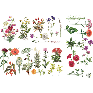 Furniture Decals - Floral Collection 24 x 34 - Furniture