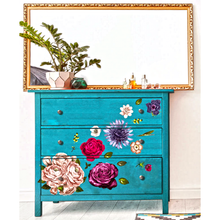 Load image into Gallery viewer, Furniture Decals - Lush Floral II 44 x 30 - Furniture Decals