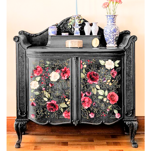 Furniture Decals - Midnight Floral 22 x 33 - Furniture