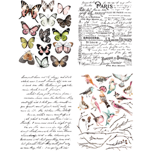 Decor Transfers® | Parisian Butterflies