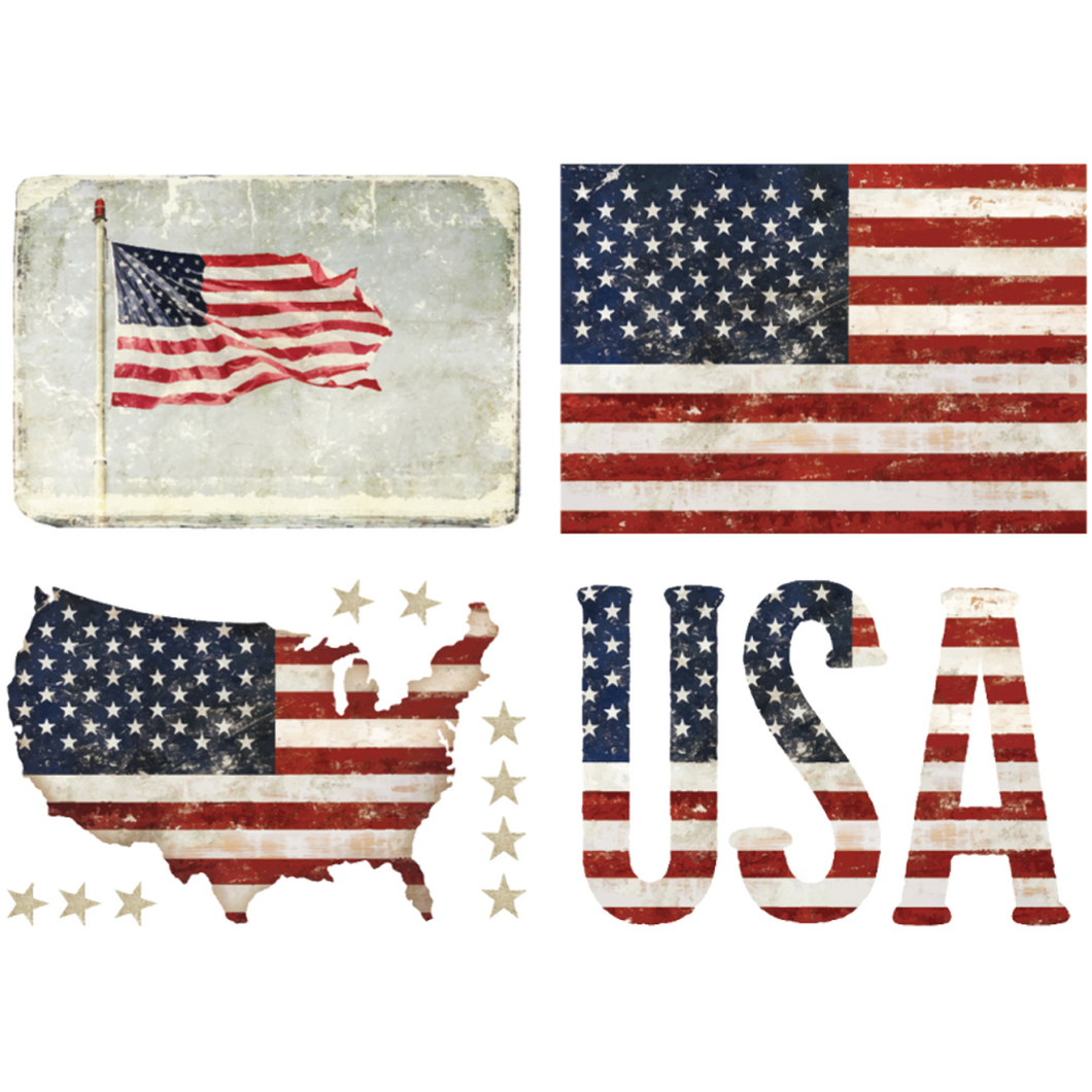 patriotic furniture transfer by redesign with prima