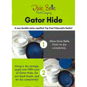 Gator Hide | Finish & Water Repellent - Waxes Glazes &