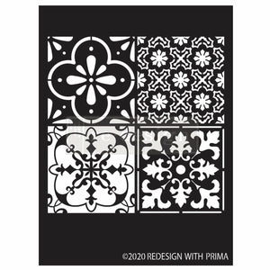 8 x 8 Stencil | Coastal Tile (New!)