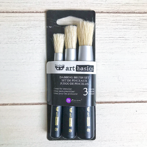 Art Basics | Set of 3 Stencil Brushes