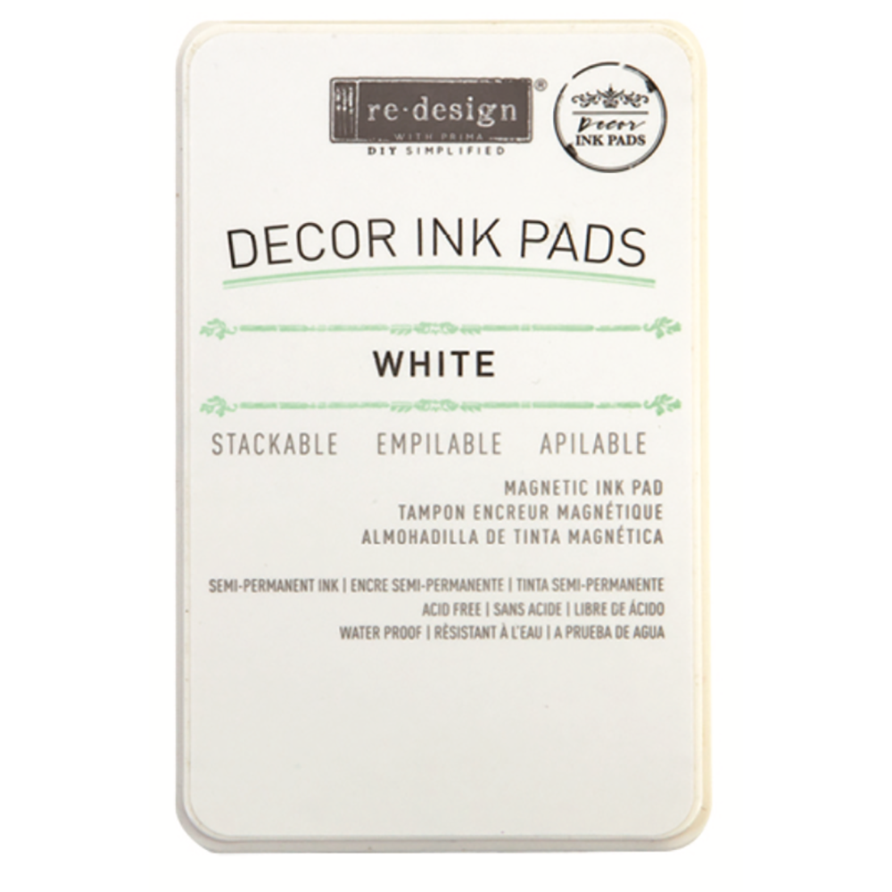 Semi Permanent Ink Pad | White (New!)