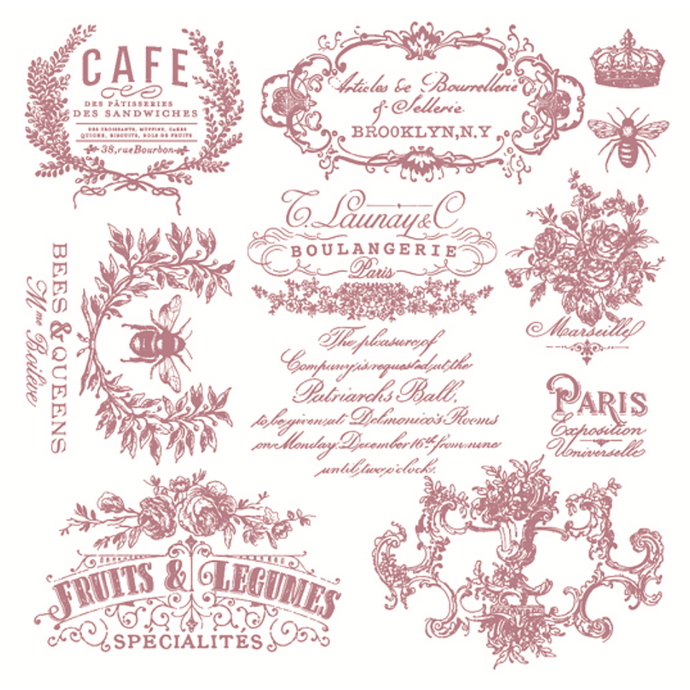 Clear Stamps | I See Paris
