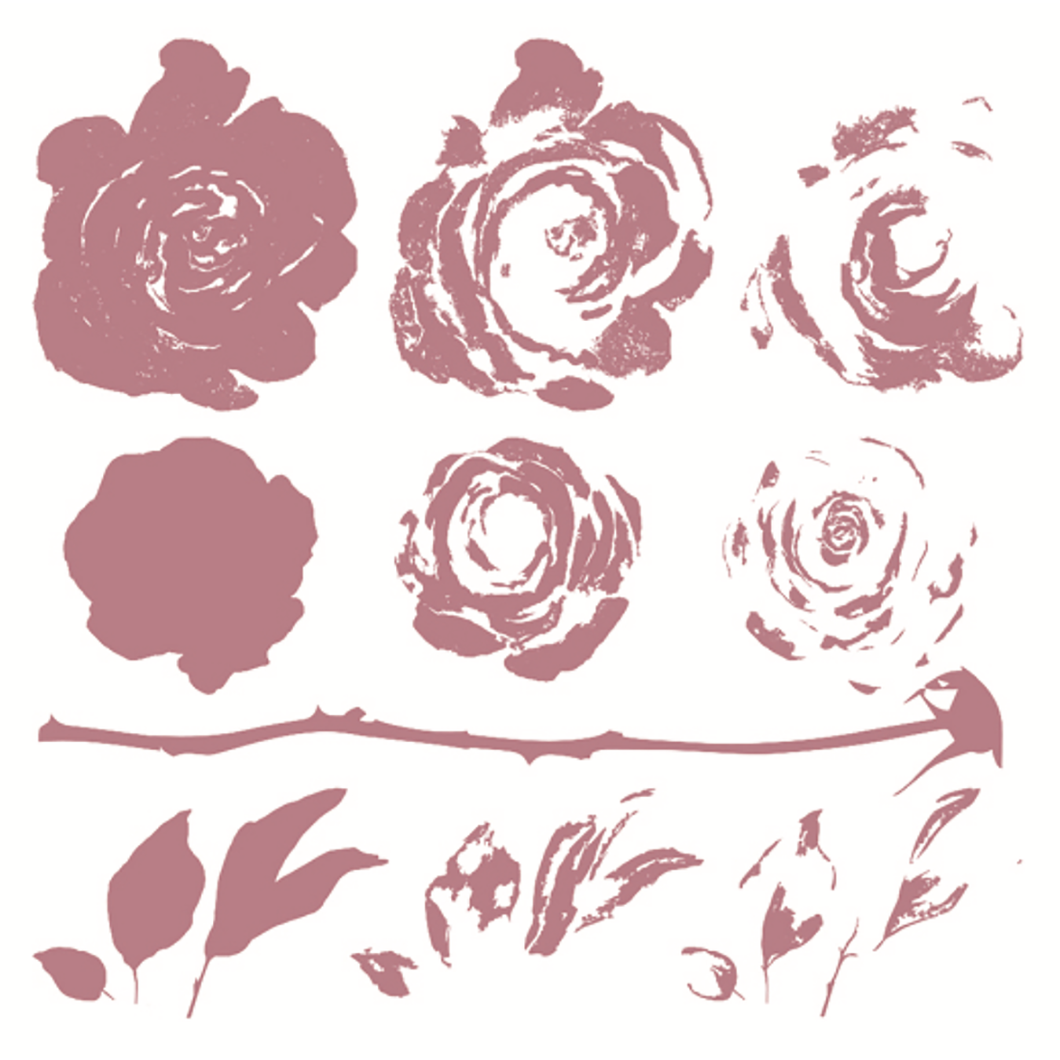 Clear Stamps | Mystic Roses