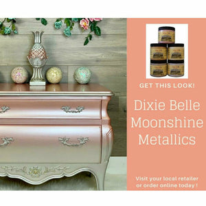 Dixie Belle Moonshine Metallic Chalk Paint