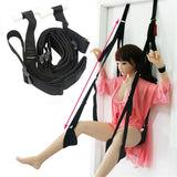 Hanging Sex Door Swing Chair Sex Furniture Bondage Restraints For Couple Flirt With Cushion Leg Pad Sex Love Aid Adult Game