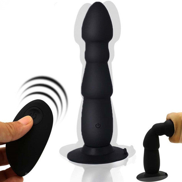 Wireless Remote Dildo Vibrator Anal Plug Prostate Massager Suction Cup Masturbator for Man Gay Anal Adult Sex Toy Butt Plug U113