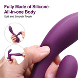 G Spot Rabbit Vibrator with 10 Setting Massage Modes Fully Silicone Crafted USB Charged Waterproof Sexy Toys for Women