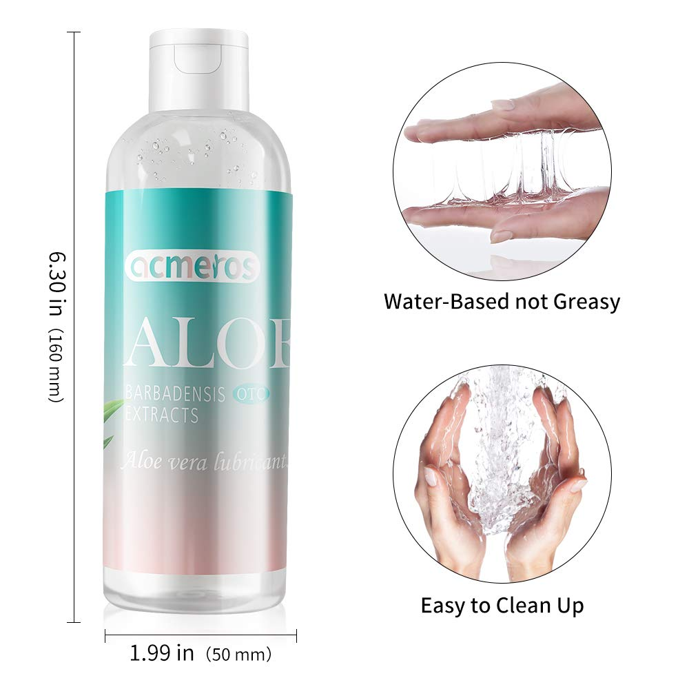 Water Based Lubricants Easy to Clean Lubricants for Sex Gay Anal Oral Sex Lubricant Vaginal Massage Oil Silicone Grease 236 ML