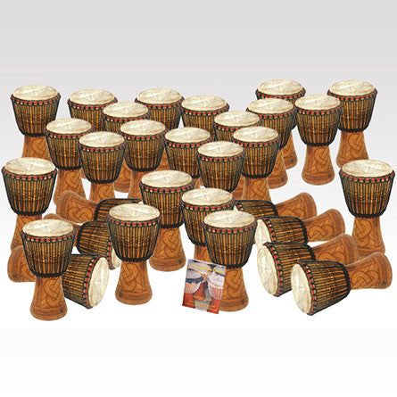 Bucara Djembe Pack - 30 Player