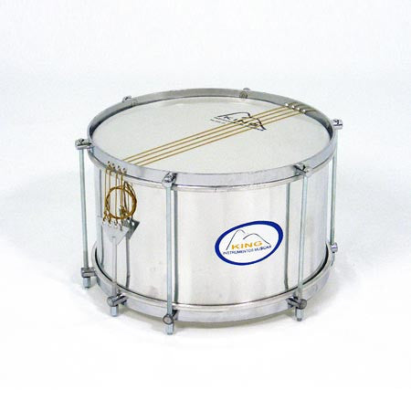 King Snare - Aluminium, Nylon Skin, Chrome 12x20cm
