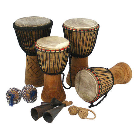 Bucara Djembe Drumming Kit - 10 Player