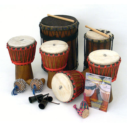 Djembe Drumming Kit - 12 Player