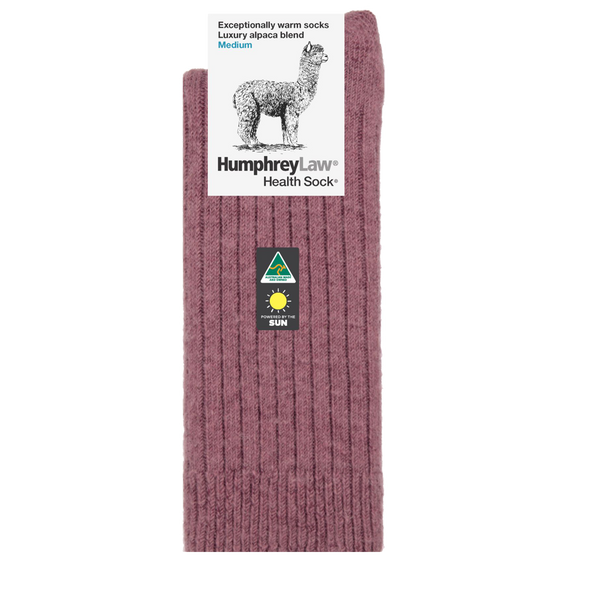 Humphrey Law Luxury Alpaca Blend Socks