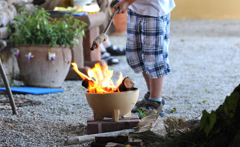Mini fire Brazier