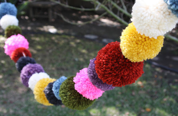 Make a Pom Pom garland