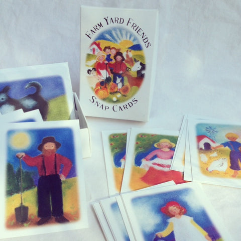 Farm Yard Friends Snap Cards