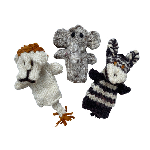 Kenana Knitters: African Finger Puppets