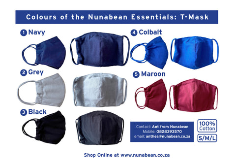 the nunabean essential: t-mask