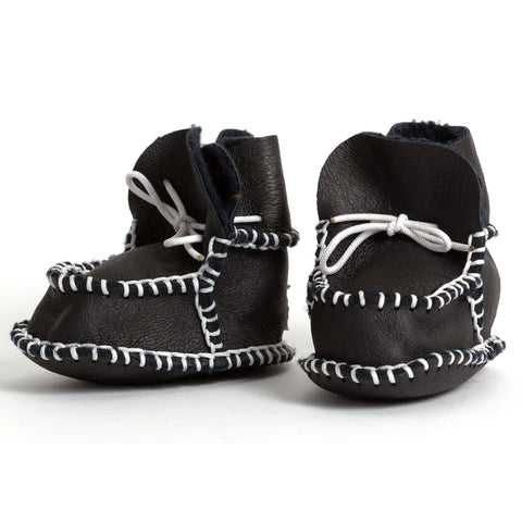 pram shoe: black expresso