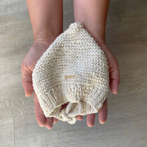 eco-baby bonnet