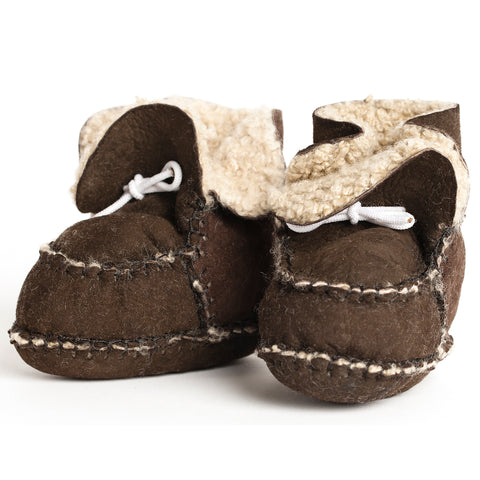 pram shoe: mixed mocha (limited edition)