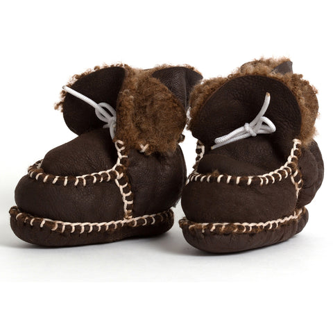 pram shoe: mixed mocha