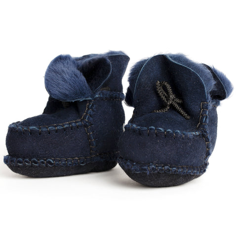 pram shoe: royal indigo blue