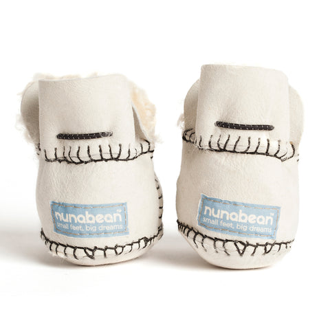 Pram Shoe: Tapioca Snow (Nunabean Limited Edition)