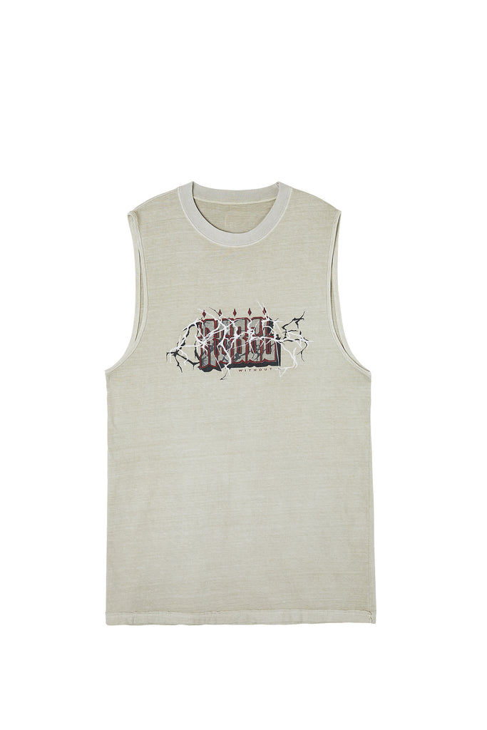 Rebel Tank Top Beige