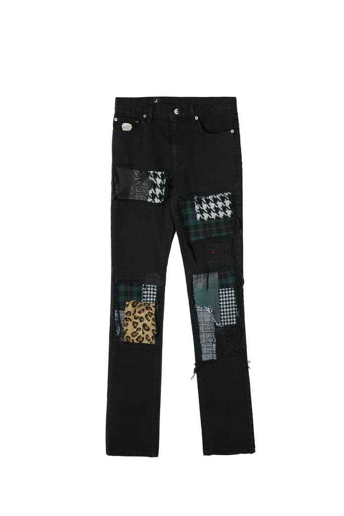 Patchwork Straight Jean 2