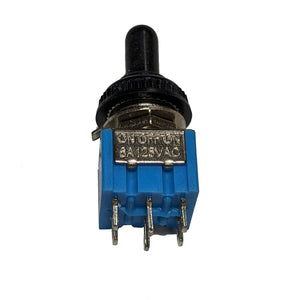 IndusTec DPDT Mini Toggle - Switch Maintained ON/OFF/ON MTS-203 12V 24V