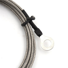 Load image into Gallery viewer, 9 x 6mm Probe Ring K Type Thermocouple Temperature Sensor 2 Meters long Washer