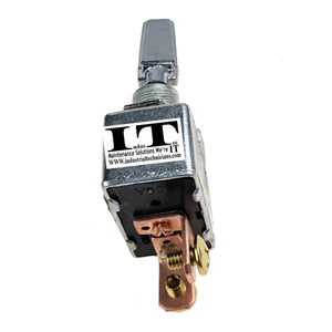 IndusTec 50A 12V DC - Automotive Toggle Switch SPST On-Off Marine High Current