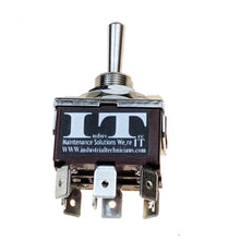 Load image into Gallery viewer, Industec E-TEN302 Toggle Switch - TPDT 2 Position Maintained KN3C-302 12V 24V