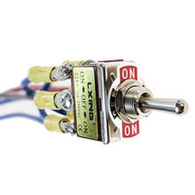 Load image into Gallery viewer, IndusTec Toggle Switch 3 - Position Motor Polarity Reversing Momentary Screw Pin