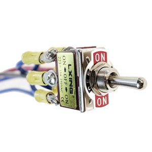 IndusTec Toggle Switch 3 - Position Motor Polarity Reversing Momentary Screw Pin