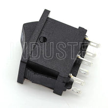 Load image into Gallery viewer, IndusTec Rocker Switch 6 - pin DPDT 3 Pos 10A 125 V  Maintained 12V 24V Polatity