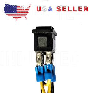 Mini Motor Polarity Reversing Switch With Wires 10A 120 V