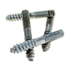 "Load image into Gallery viewer, 5/16""-18 TPI  X 2"" Hanger Bolt Lag / Machine Thread Stud Zink Plate stack 2"