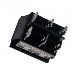 IndusTec DPDT 20A 12V 6 - PIN Maintained Rocker Switch 2 Position Quick Plug 24V
