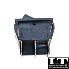 Load image into Gallery viewer, IndusTec DPDT 20A 12V 6 - PIN Maintained Rocker Switch 2 Position Quick Plug 24V