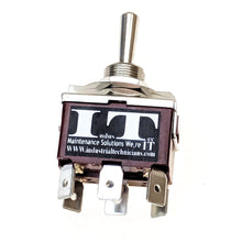 Load image into Gallery viewer, Heavy Duty 20 - AMP DPDT 6 1/4 PC pin Toggle Switch Momentary 3 Pos 12V