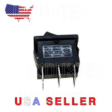 Load image into Gallery viewer, IndusTec Rocker Switch 6 - pin DPDT 2 Position 10A Maintained 12V 24V quick plug