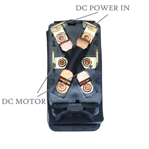 Motor Polarity Reversing Switch 20 Amps Continous 3 position Momentary