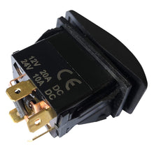 Load image into Gallery viewer, IndusTec Momentary Motor Polarity Reversing - Rocker Switch Control DPDT 12V 20 AMP