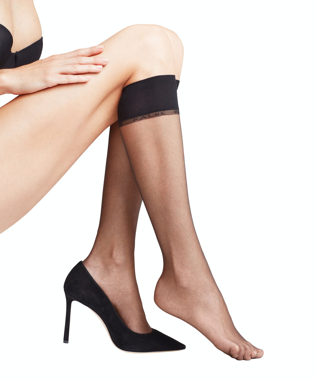 FALKE Shelina 12 Denier Women Knee-High Socks